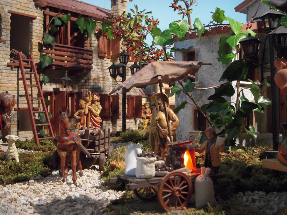 Costruire il presepe passione presepe di vittorio milana for Come stimare i materiali da costruzione per la costruzione di case